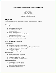 Personal Assistant Resume Objective 7 Dental Assistant Resume Objective Paradochart