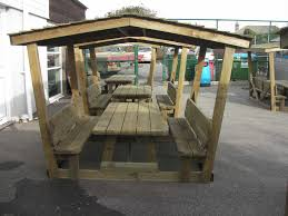childrens picnic table shelter sustainable furniture