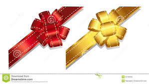 ribbons and bows 2 4 stock vector image of event illustration
