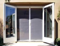Outswing Patio Door by 95 5 In 10 Lite Glass Steel French Inswing Patio Door With Screen
