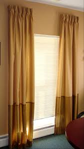 decorating yellow and gold drapery panels for home decoration ideas