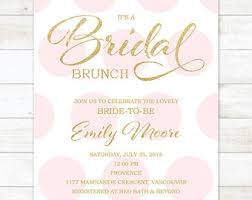 bridal brunch invitation bridal brunch invitation pink bridal shower invitation