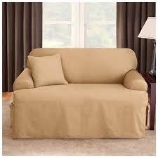 T Cushion Sofa Slipcover by Sure Fit Logan T Cushion Sofa Slipcover Walmart Com