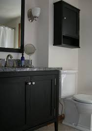 Painting A Bathroom Vanity Before And After by Painted Bathroom Vanities Black Painted Bathroom Vanity Tsc