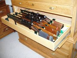 Free Woodworking Plans Garage Cabinets by Best 25 Gun Cabinets Ideas On Pinterest Wood Gun Cabinet Gun