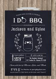 coed bridal shower couples or coed bridal shower printable invitation i do bbq