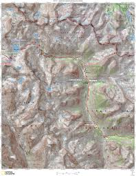 Topo Map Jmt Topo Maps Onthetrail Org On The Trail Guide To The Outdoors