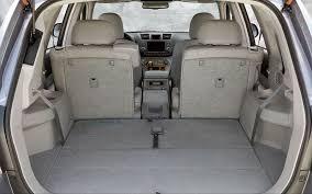 Toyota Highlander Interior Dimensions Toyota Highlander Cargo Width Toyota Highlander Reviews And