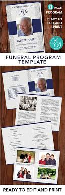 print funeral programs 304 best 8 page funeral program templates images on