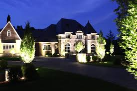 led outdoor landscape light with lighting colors installation and