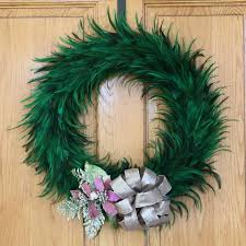 how to make feather wreath home design by john