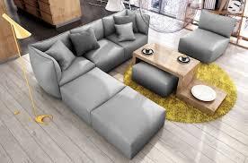 canapé modulable canapé modulable d angle en tissu modula gris mobilier privé