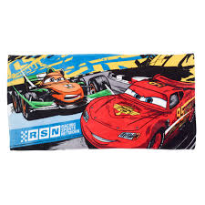 cars disney disney cars bath towel