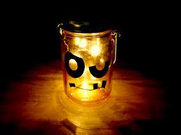 halloween firefly mason jar luminaries porter u0027s craft u0026 frame
