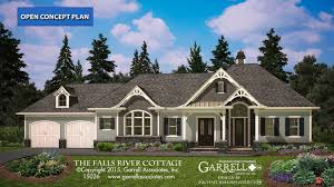 craftsman style house plans with photos falls river cottage house plan house plans by garrell associates