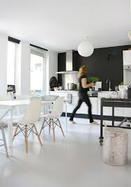Simple White Dining Room Honeysuckle Life 38 Best Images About Interior Black U0026 White On Pinterest