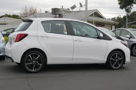 hatchback cars 2016 certified pre owned 2016 toyota yaris cus hatchback in san jose