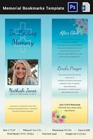memorial bookmarks 10 memorial bookmarks templates free psd ai eps format