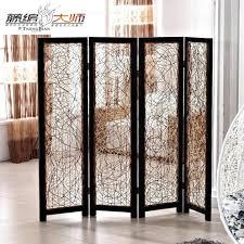 room dividers ideas for studios cream 6 panel wooden slat divider