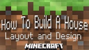 How To Make Blueprints For A House by Minecraft Tutorial How To Build A House Part 1 Layout And Design