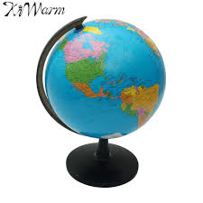 32cm world globe map ornaments with swivel stand world map geography