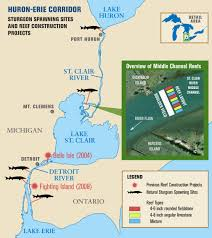 White Lake Michigan Map by Of New Rock Spawning Reefs Will Help Great Lakes Native Fish