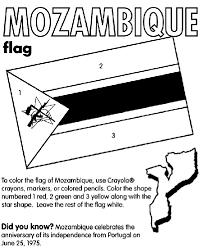 mozambique coloring page crayola com