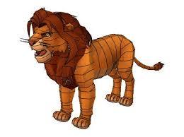 lion king simba free papercraft download