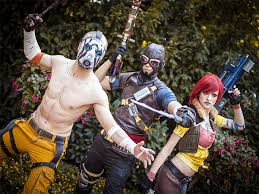 Borderlands Halloween Costume Awesome Cell Shaded Borderlands Cosplay Pics Nsfw Gamer