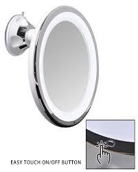 amazon com sanheshun 7x magnifying lighted travel makeup mirror