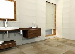 floor tiles affect the overall picture of the bathroom interior