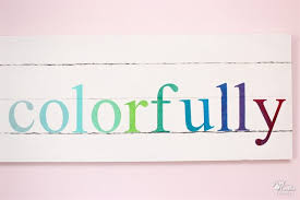 colorful pb teen knock off wall art