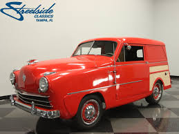 crosley car 1950 crosley super sedan delivery my classic garage