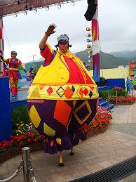 clown stilts clowning a gallery on flickr