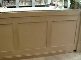 Building A Reception Desk Reception Desk Panels Started