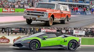bugatti pickup truck farmtruck vs lambo youtube