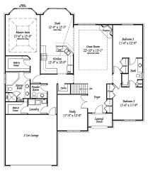 ranch floor plans with 3 car garage windridge estates new homes macomb county