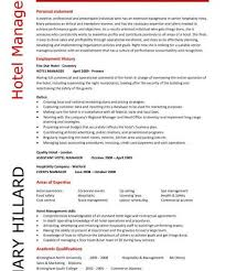 Hotel Resume Astonishing Hotel Manager Resume 1 Hotel Cv Template Job