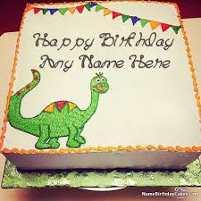 dinosaur birthday cake dinosaur birthday cake with your kids name and photo