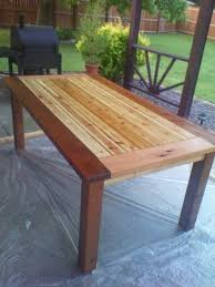 Cedar Patio Table Woodwork Cedar Outdoor Dining Table Plans Pdf Plans Cedar Patio