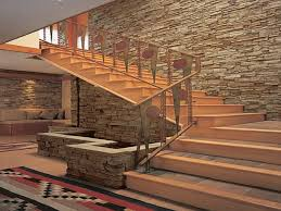 closed drywall and open stair usual house staircase pinterest