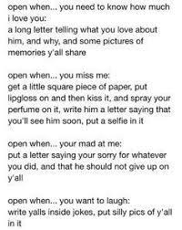 best 25 letter for boyfriend ideas on pinterest diy open when