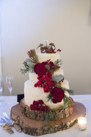 christmas wedding cakes christmas december barn wedding in independence oregon