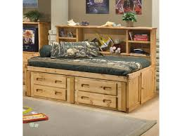 Captain Bed With Trundle Trendwood Bunkhouse Twin Cheyenne Captain U0027s Bed With Underdresser