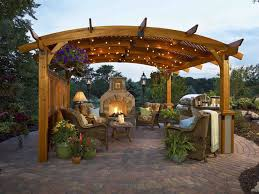 Outdoor Fireplace Designs - stone hearth outdoor fireplaces the green scene chatsworth ca