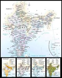 Map Of India by Map Of India U2022 Mapsof Net
