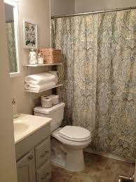 bathroom bath towel decorating ideas towels towel with together pinterest half decor bathroom ideas
