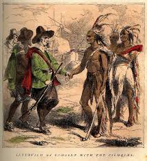 inkspired musings thanksgiving history pilgrims indians and