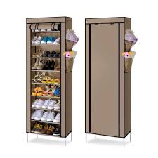 30 pair shoe cabinet s201 oxford fabric dustproof 10 tier 30 pair shoe cabinet rack
