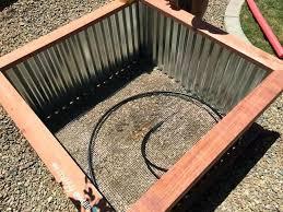 galvanized raised garden beds corrugated iron raised garden beds